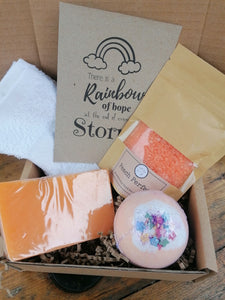 pamper gift set from The Soap Shack
