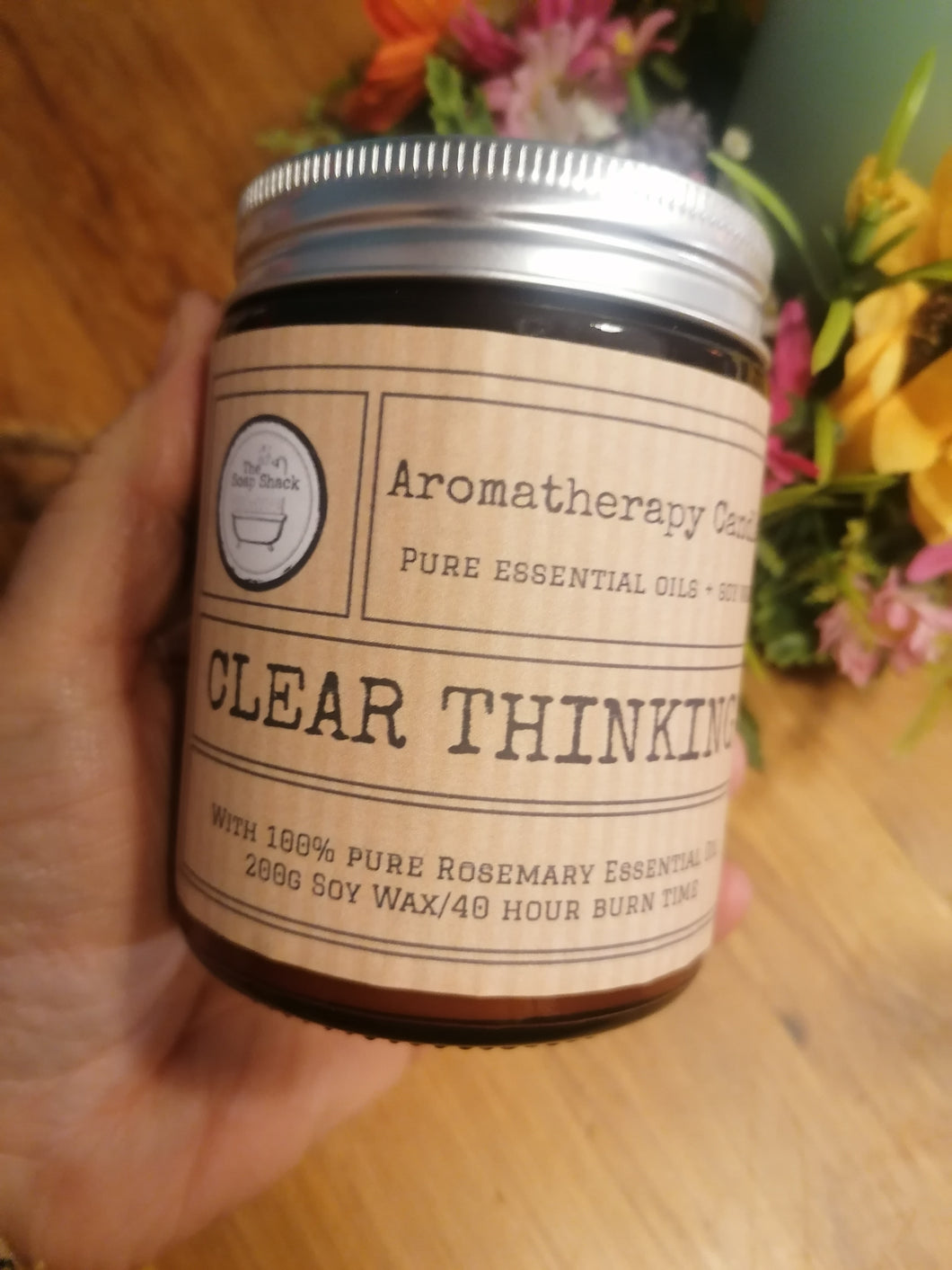 Clear Thinking - Aromatherapy Soy Wax Candle