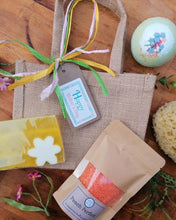 Load image into Gallery viewer, Jasmine & Patchouli Jute Gift Bag