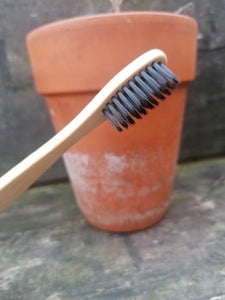 bamboo toothbrush from The Soap Shack