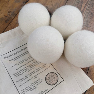 Felted Tumble Dryer Balls