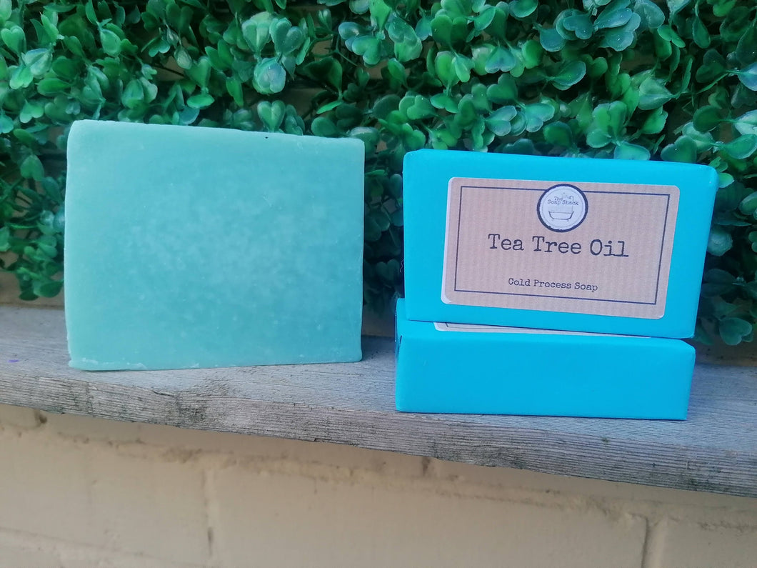 Tea Tree Oil Cold Processed Soap