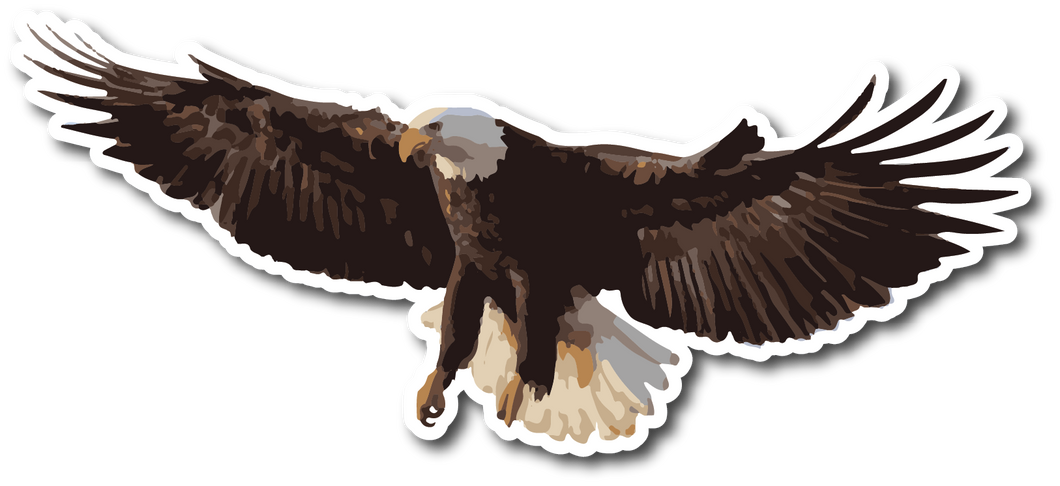 Eagle Weatherproof Sticker