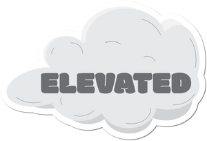 Elevated Weather-Proof Sticker