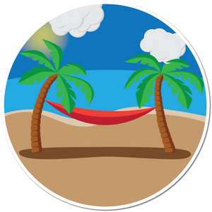 Hammock Weather-Proof Sticker
