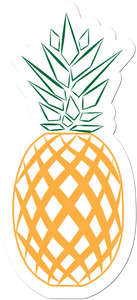 Pineapple Weather-Proof Sticker