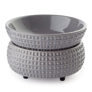 2-in-1 Wax Warmer-Ceramic Slate