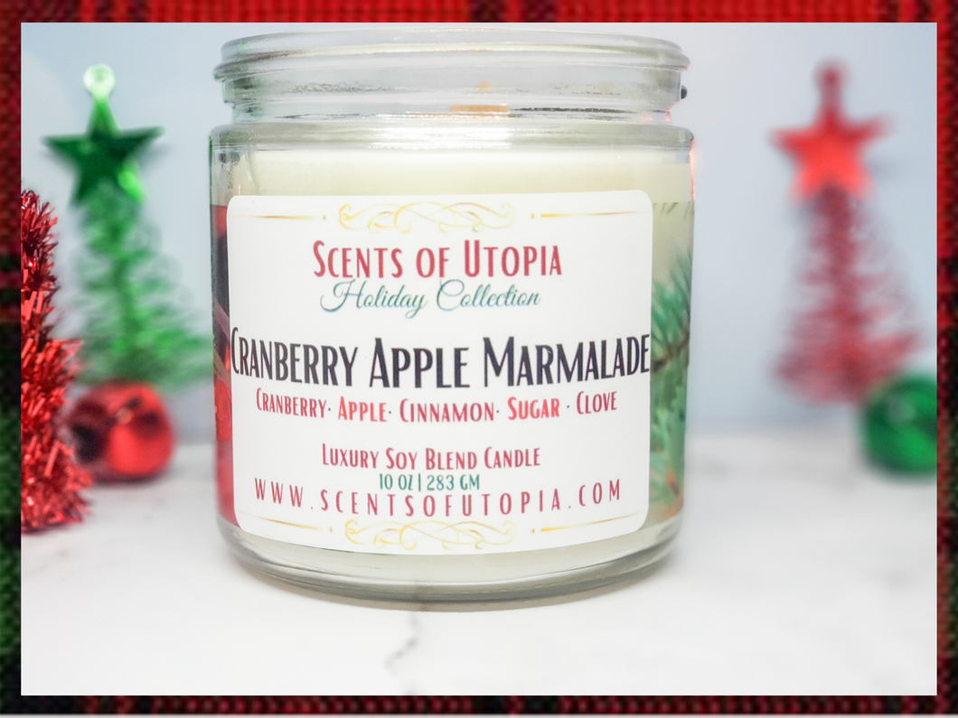 Cranberry Apple Marmalade Holiday Candle