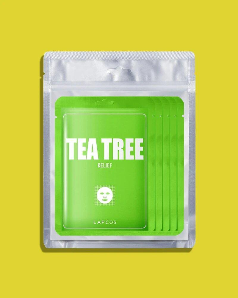 Tea Tree Face Mask (5 unidades)