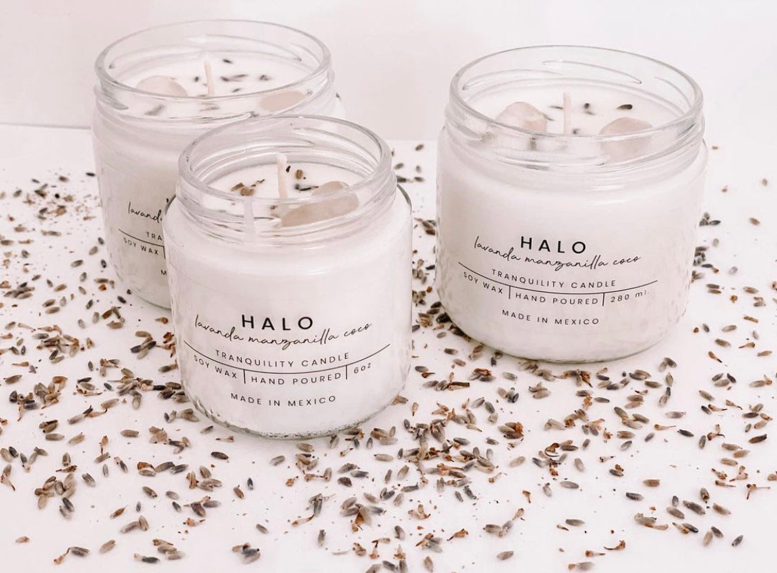 Vela de temporada - Halo 9oz