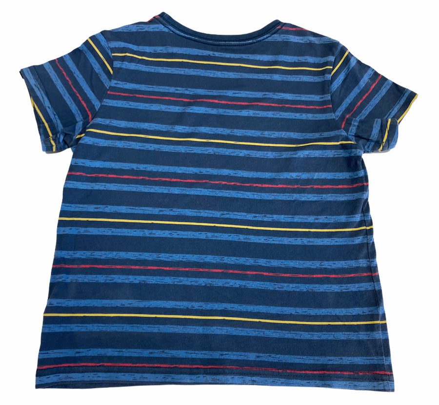 Quicksilver Striped Tee - Size 4