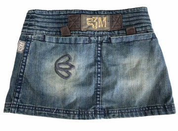 E3M Kid Denim Mini Skirt - Size 5