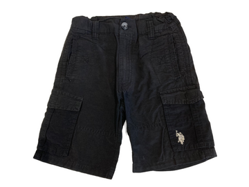 U.S. Polo Black Cargo Shorts - Size 4