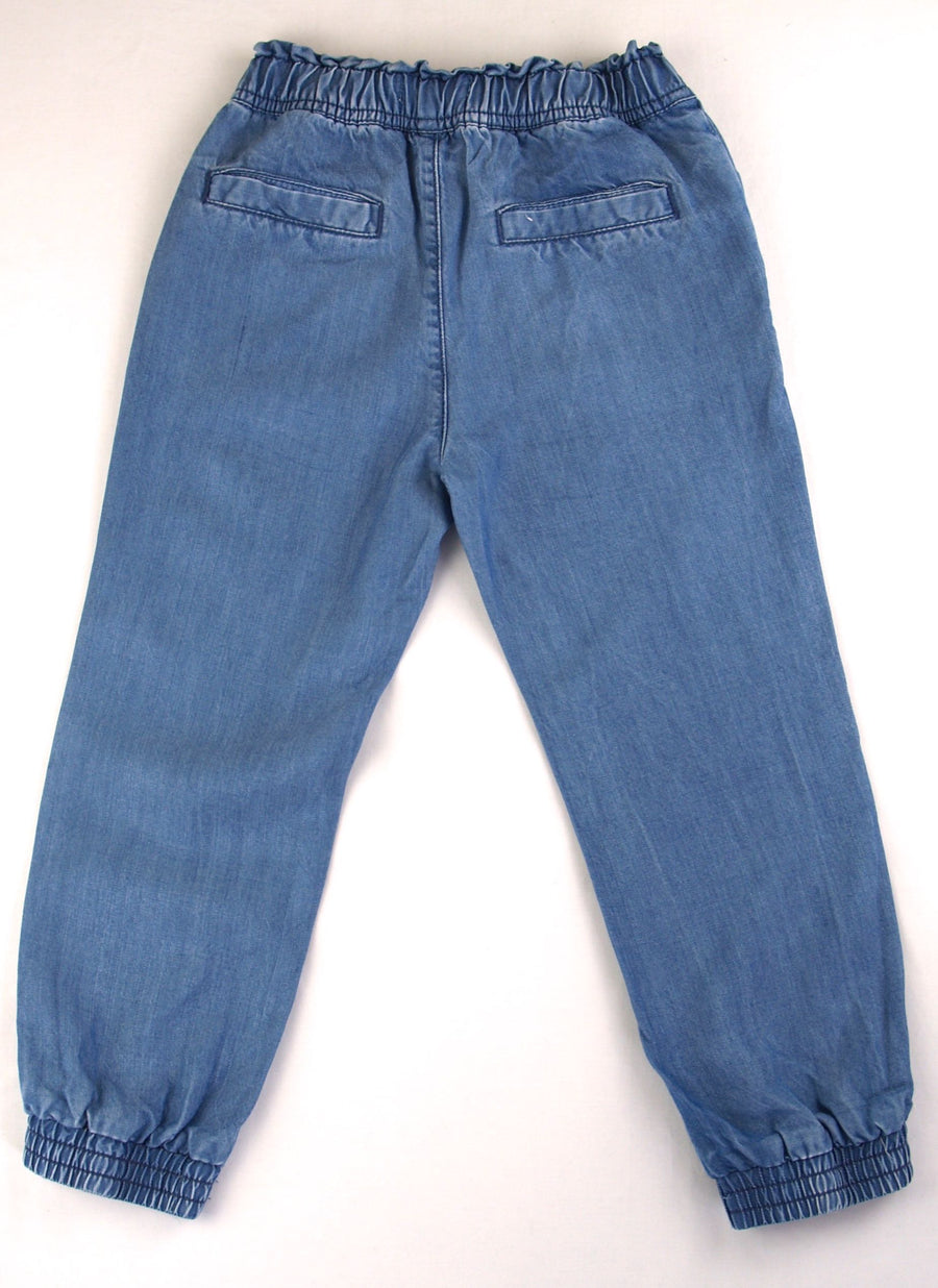 Country Road Soft Denim Trousers - Size 4