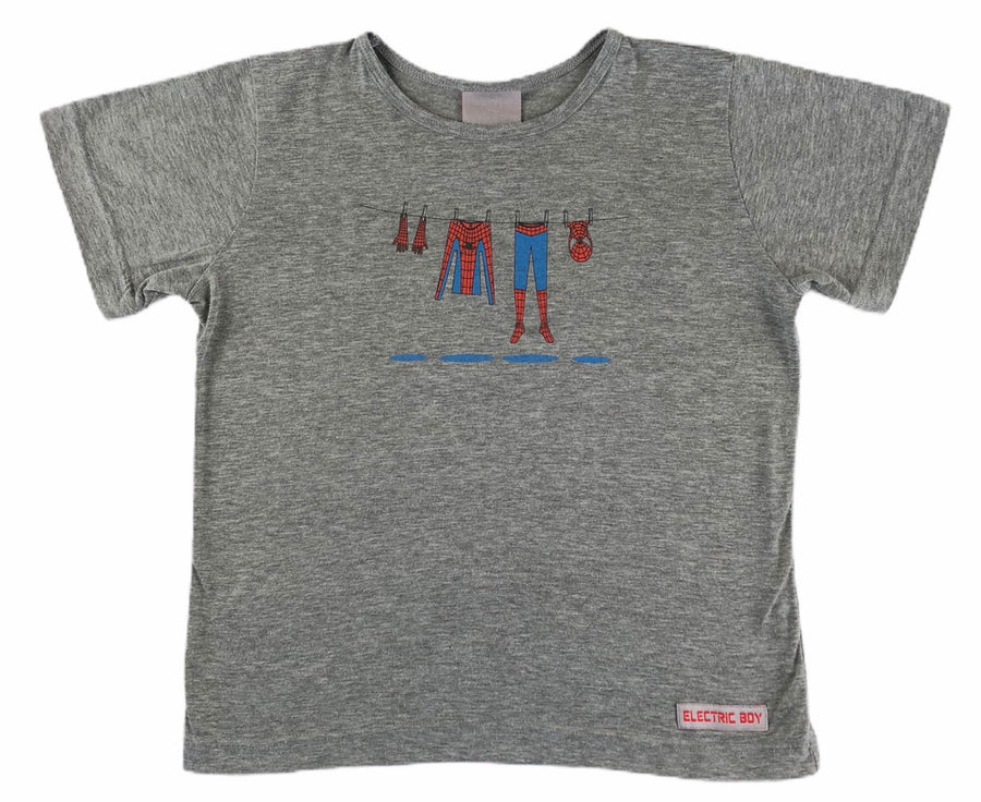 Electric Boy Spiderman Tee - Size 8