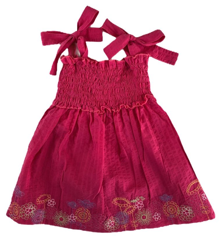 Ellie B Flower Embroided Dress - Size 3