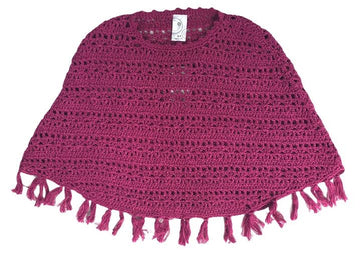 Target Crocheted Poncho - Size 3
