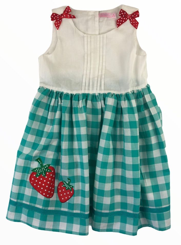 Funky Babe Strawberry Dress - Size 3