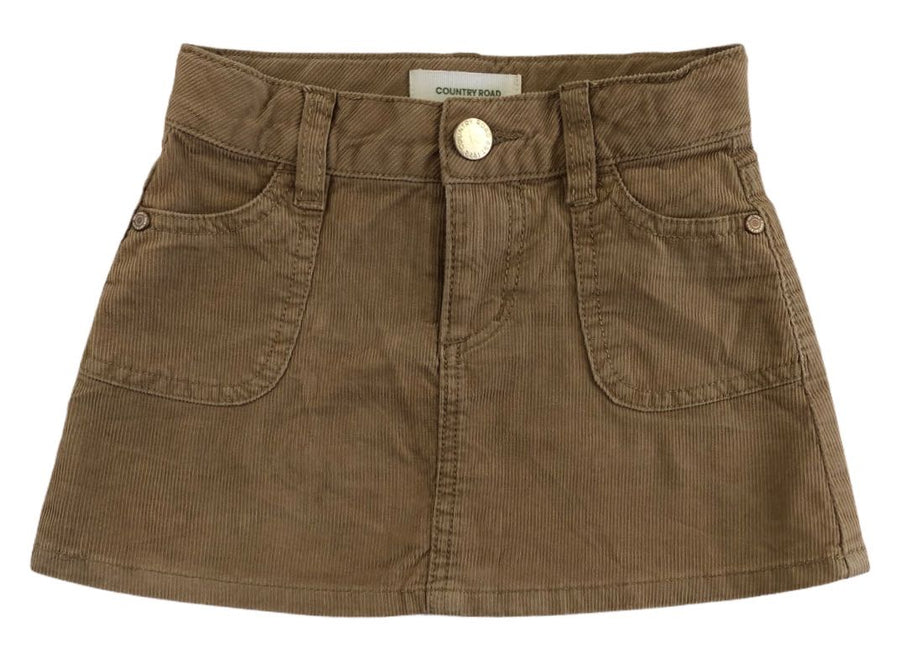 Country Road Corduroy Mini Skirt - Size 2