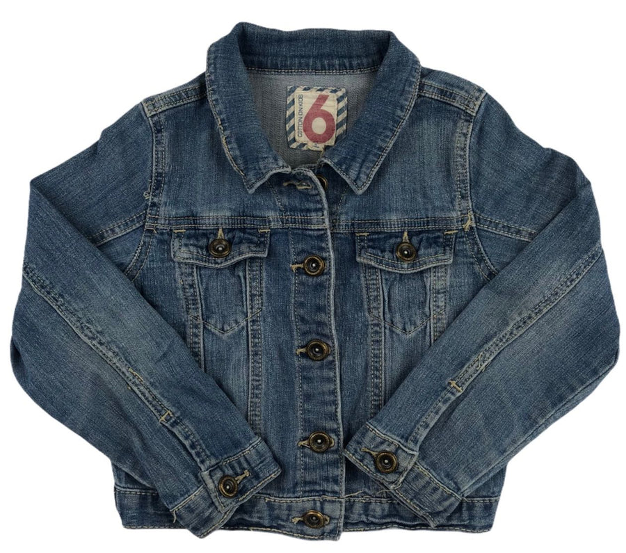 Cotton On Denim Jacket - Size 6