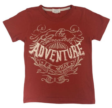 Pumpkin Patch 'Adventure' Tee - Size 5