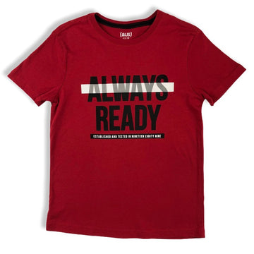 & US 'Always Ready' Tee - Size 10