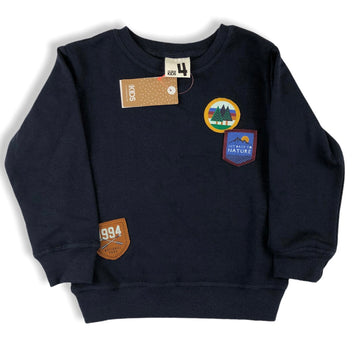 Cotton On 'Get back to nature' Jumper - Size 4