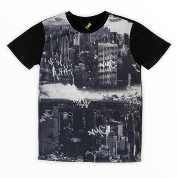 Tilt City Graphic Tee - Size 8