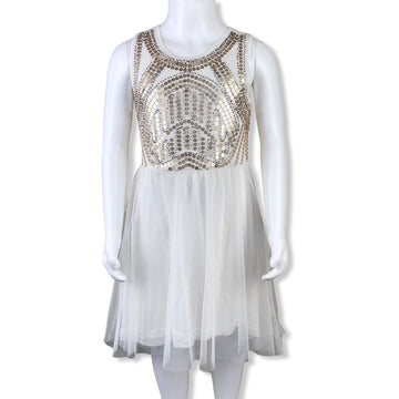 Bardōt Sequin & Beaded Dress - Size 7