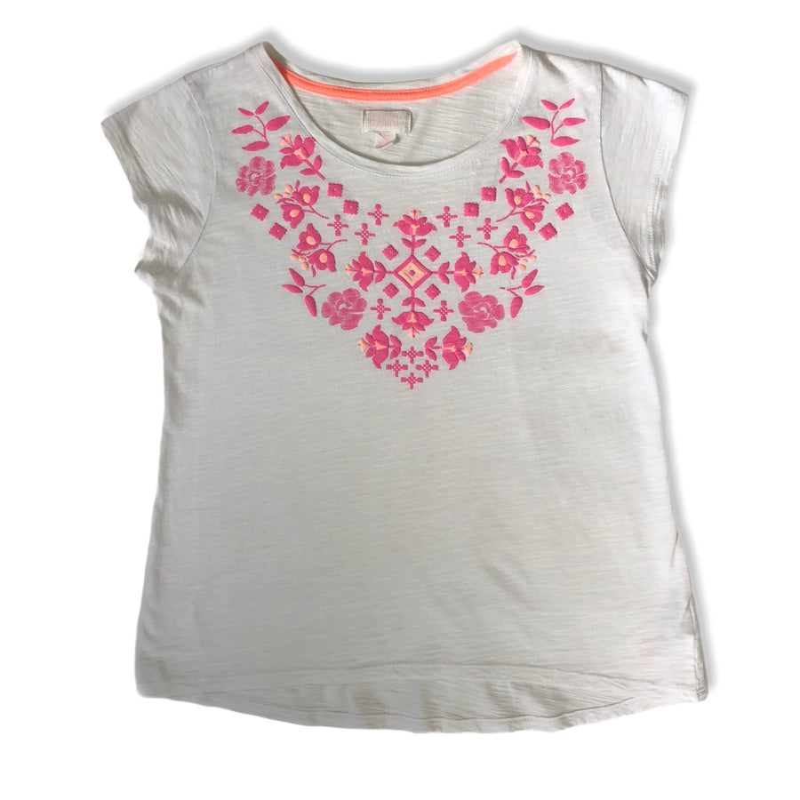 Pumpkin Patch flower tee