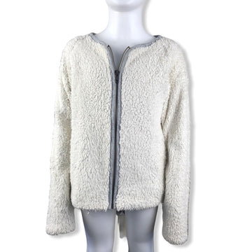 Country Road Zip up fury jumper - Size 10-12