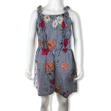 Monteau Floral playsuit - Size 6 (Small)