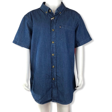 The Academy Brand Denim style shirt - Size 12