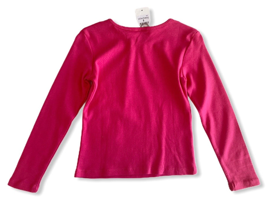 Hot Pink T-Shirt - Size 5
