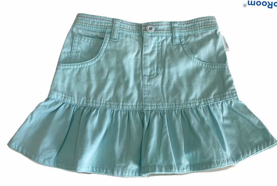 Gum Gum Blue Mermaid Ruffle Skirt - Size 2