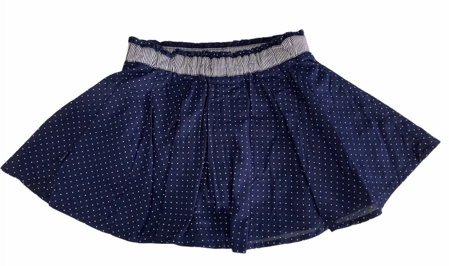 Pumpkin Patch Polka Dot Skirt - Size 2