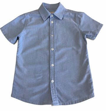 Esprit Chambray Shirt - Size 4