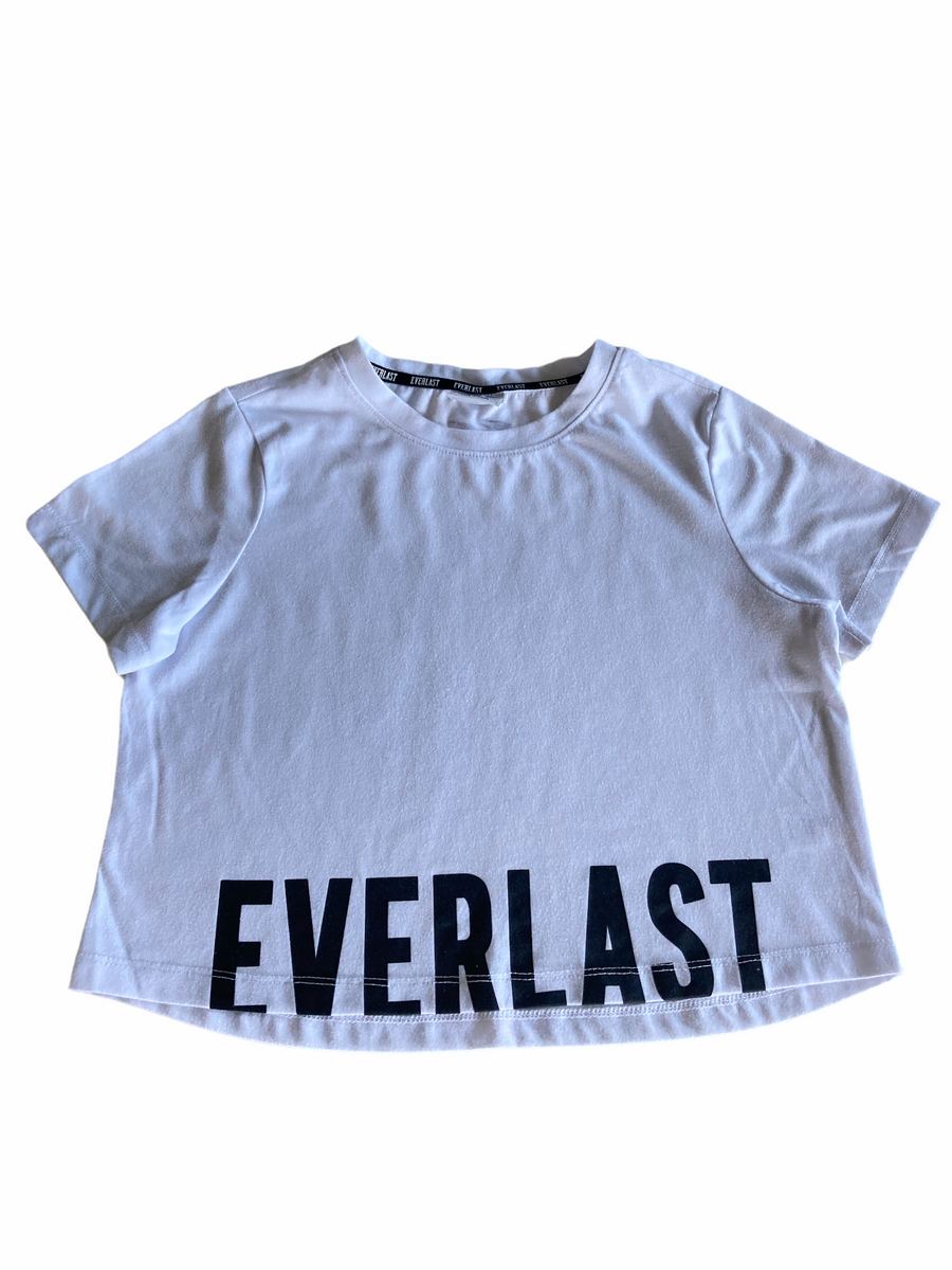 Everlast Cropped Tee - Size 10
