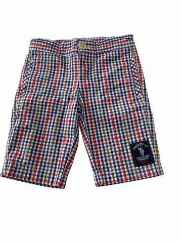US POLO Checkered Shorts - Size 4