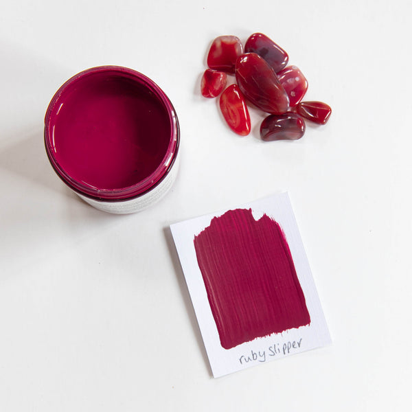 Artisan Mineral Paint - Ruby Slipper