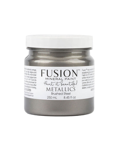 Fusion Mineral Paint - Brushed Steel