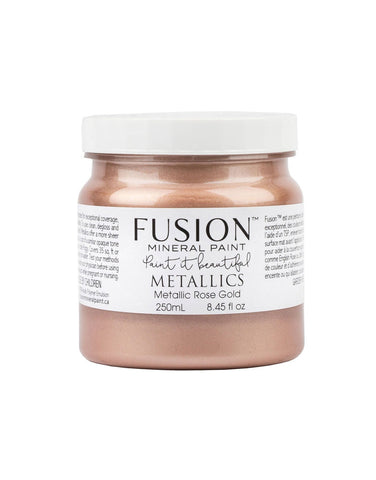 Fusion Mineral Paint - Metallic Rose Gold