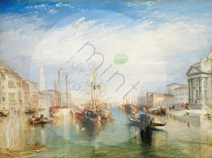 Venice by Joseph Turner MINT Decoupage Paper