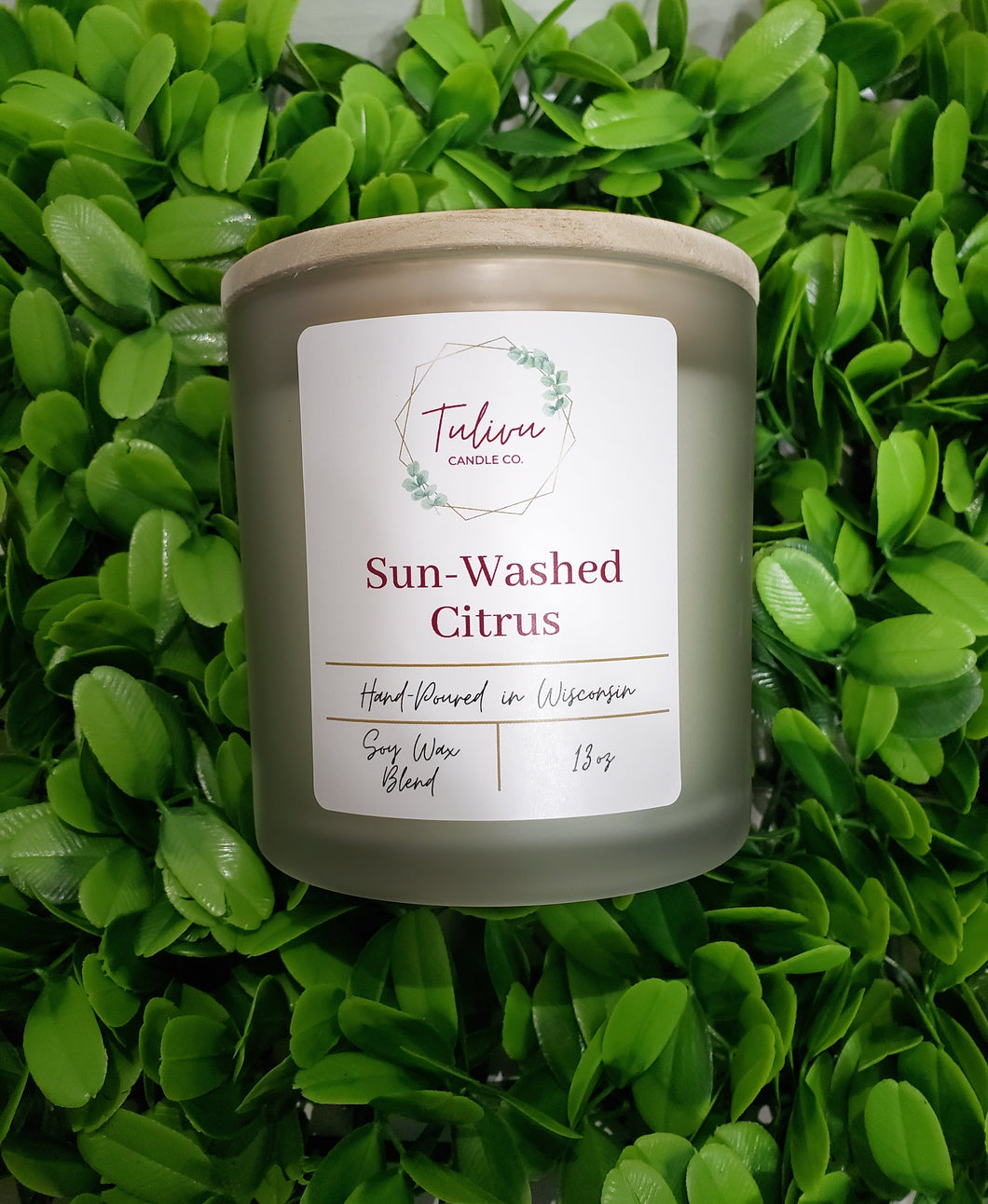 Sun-Washed Citrus Candle