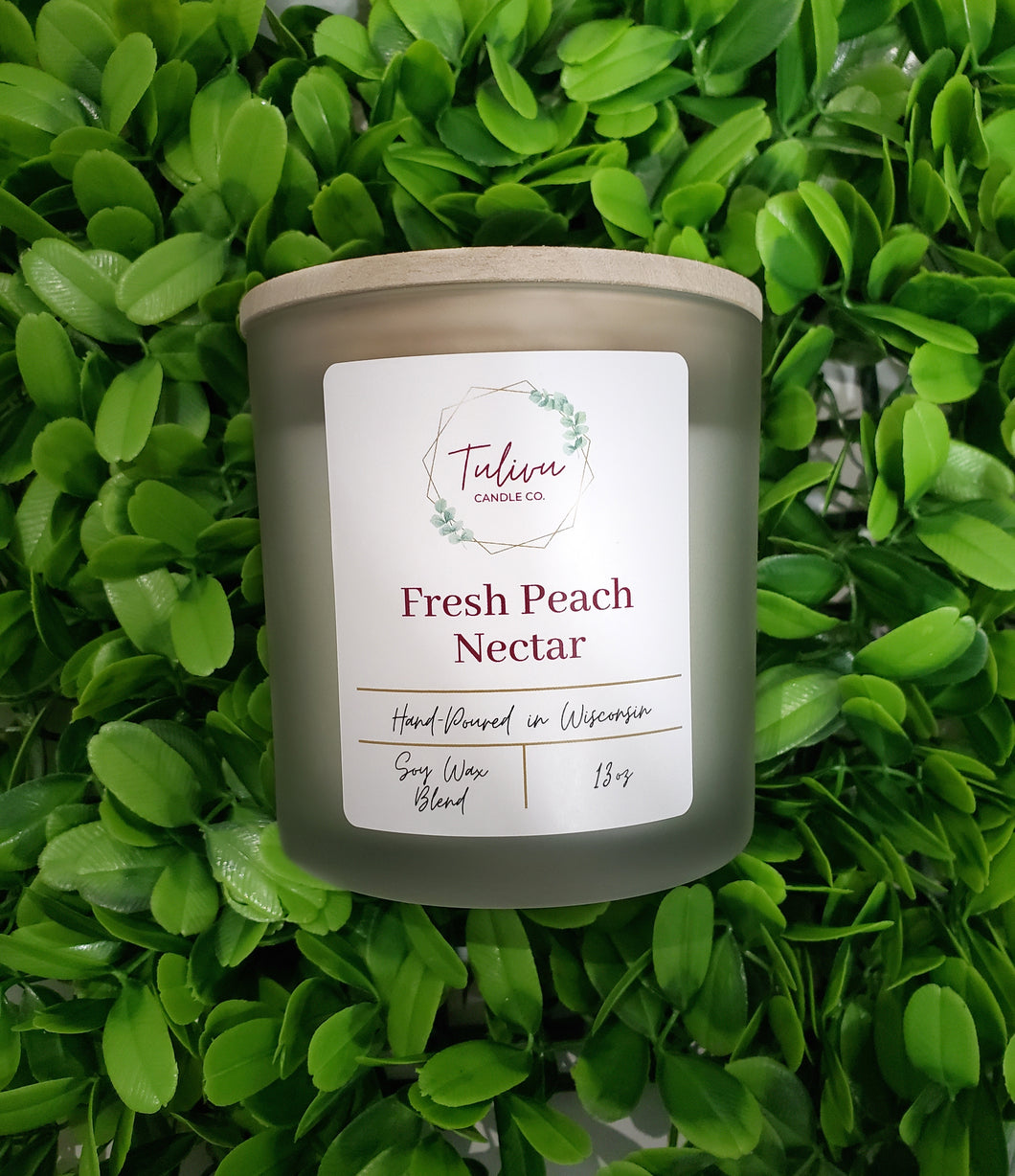 Fresh Peach Nectar Candle