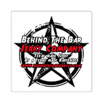 Behind the Bar Jerky Company Stickers
