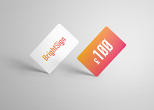 Load image into Gallery viewer, BrightSign Glove Gift Card