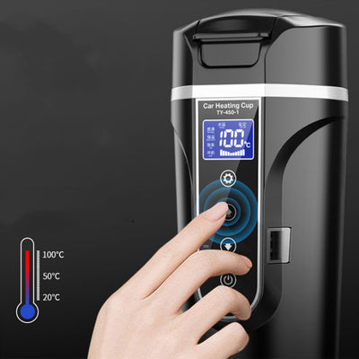 Portable Thermos Smart Touch Digital - [emporium digital]