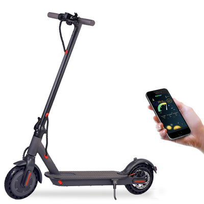 Electric Scooter PRO Folding 350W 36V 18.5 Mile Range 8.5inch Tyre - Emporium Digital Store