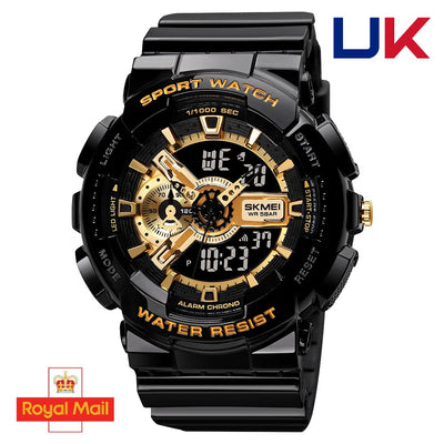 NEW 2020 Men's Watch Gold Elegant Strong Style Shockproof Waterproof. - [emporium digital]